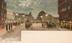 um 1900 Berlin - Weidendammer Brücke