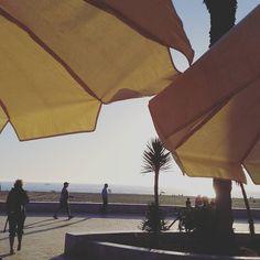 Soirée sur la corniche d'#Agadir au #Maroc.... #followback #agadirbeach #instamorocco #beach