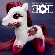 Zombie My Little Pony by ExtractionEngine on Etsy