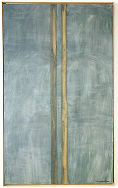 Concord Barnett Newman (American, New York 1905–1970 New York) Date: 1949  Medium: Oil and masking tape on canvas  Dimensions: H. 89-3/4, W. 53-5/8 inches (228 x 136.2 cm.)