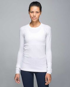 Rest Less Pullover. Size 2. White $88