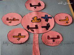 Jawaherpearl Kids نشاطات لتعليم الحروف طرق و وسائل تعليمية لرياض الأطفال Teach Arabic Blog Blog Posts