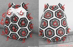 African Flowers, Knit Crochet, Dolls, Knitting, Projects, Blog, Kids, Hobby, Owl Cushion