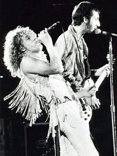 The Who at Woodstock....