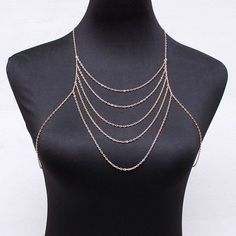 22b7628fed6ad9  1.88 Simple Golden Multilayer Body Chain For Women Body Jewelry Shop