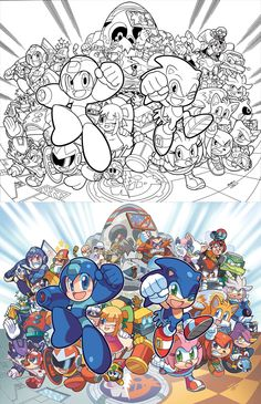 Sonic the Hedgehog 250 Variant Cover(s) by *herms85 on deviantART