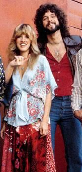 Stevie Nicks and Lindsey....undeniable chemistry up until today!