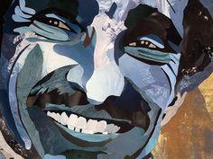 Détails tableau  Massoud le lion du panshir