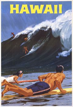 Surf's Up Hawaii (1950s) neste link: http://www.emanuelnetwork.com/