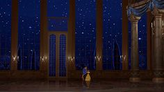 future venue inspiration... ballroom from beauty and the beast with floor to ceiling windows and an outdoor patio so you can see all the stars whether you are inside or outside <3 ...anyone who finds this venue in real life TELL ME