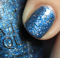 best blue sparkle invented. absolutely alice OPI. sold out forever.