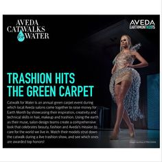 AVEDA Catwalks For Water! Did you know that our resident esthetician and makeup artist won 2nd Place at the Aveda Institute Nashville's Catwalk for Water Scholarship Competition?