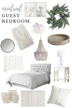 guest bedroom Neutral guest room Inspo Beds: Smart Buying Tips You might Neutral Bedroom Decor, Guest Bedroom Decor, Guest Bedrooms, Bedroom Inspo, Bedroom Ideas, Neutral Bedrooms, Kids Bedroom, Tan Bedroom, Grey Bedroom Design