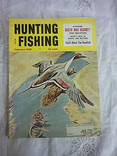 Vintage pennsylvania game news magazine hunting fishing for Hunting and fishing magazine