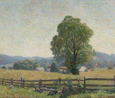 N.C. Wyeth, Chadds Ford Landscape, 1909
