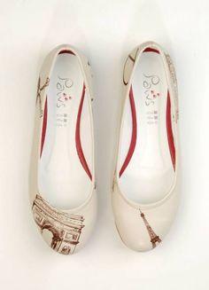 Dogo shoes Paris Flats #shoes #flats #paris #eiffel #dogostore #dogoshoes #dogo