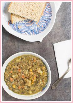 Vegan Instant Pot Lentil Vegetable Soup with Slow Cooker. Vegan Instant Pot Lentil Vegetable Soup with Slow Cooker Variation Slow Cooker Lentils, Vegan Slow Cooker, Pressure Cooker Recipes, Pressure Cooking, Rice Cooker, Vegan Soups, Vegan Dishes, Vegan Food, Lentil Recipes