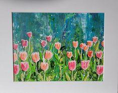 Star Art, Chalk Pastels, Gel Pens, Floral Flowers, Colorful Decor, House Warming, Singing, My Etsy Shop, Bloom