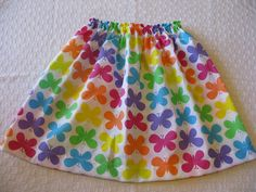 Girls Super Easy Skirt PDF Pattern- Beginners - Make skirts/ Childrens clothing using a sewing machine only. E-tutorial. PDF pattern. on Etsy, £2.95