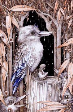 'The Kookaburra Prince' by Adam Oehlers