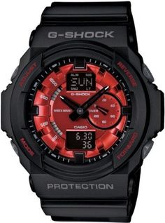 Casio Mens Analog-Digital G-Shock - Metallic Red Face w/ Matte Black Resin Strap Casio. Save 4 Off!. $125.00