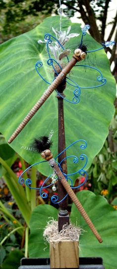 Dragonfly Recycled  Art Sculpture by Kings Bench Creations on Etsy,