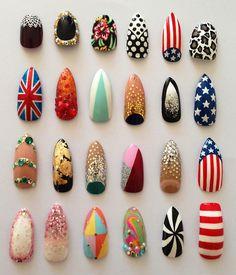 acrylic nail designs collection