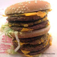 Monster Mac - McDonalds Secret Menu | #HackTheMenu