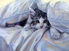 cats by lucie bilodeau images | разные нужны... Художница Lucie Bilodeau ... =^.^= #gato #cat #chat