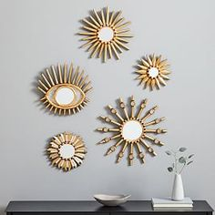 7 Attractive Hacks: Wall Mirror With Lights Beds gallery wall mirror couch.Wall Mirror Ideas Diy whole wall mirror entryway. Wall Mirrors Metal, Mirror Wall Art, Small Mirrors, Mirror Tiles, Floor Mirror, Decorative Mirrors, Decorative Accents, Wall Décor, Hanging Mirrors