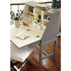 Regent Secretary in Desks | Crate and Barrel
