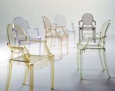 Philippe Starck Louis Ghost Armchair in Crystal by Kartell from Wedding List Co - The Leading Bridal Registry Specialist Primitive Furniture, Country Furniture, Space Furniture, Modern Furniture, Furniture Design, Lucite Furniture, Modular Furniture, Furniture Websites, Scandinavian Furniture
