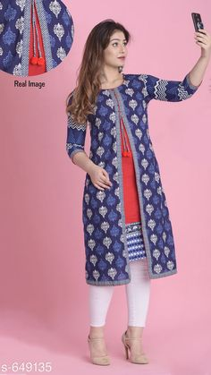 Checkout this latest Kurtis Product Name: *Divena Women's Trendy Kurti* Sizes: XS, S, M, L, XL, XXL, 5XL, 6XL, 7XL, 8XL, 9XL, 10XL Country of Origin: India Easy Returns Available In Case Of Any Issue   Catalog Rating: ★4.3 (619)  Catalog Name: Divena Women's Trendy Women's Kurtis CatalogID_73231 C74-SC1001 Code: 246-649135-3081