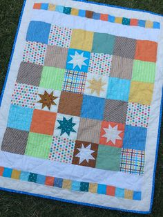 Love Laugh Quilt: Baby quilt