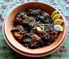 Spinach & Salmon curry see recipe here http://cupcakeluvs.blogspot.dk/2016/09/laks-spinat-curry-salmon-spinach-curry.html