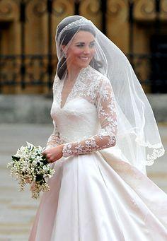 Kate Middleton The Dutchess of Cambridge wedding dress