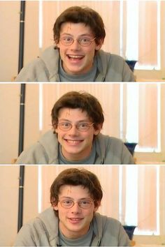 Cory Monteith as Harry Potter :)