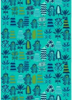Satumetsä fabric | Cotton Fabrics | Marimekko