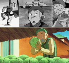 the cabbage merchant from Avatar: Last Airbender haha