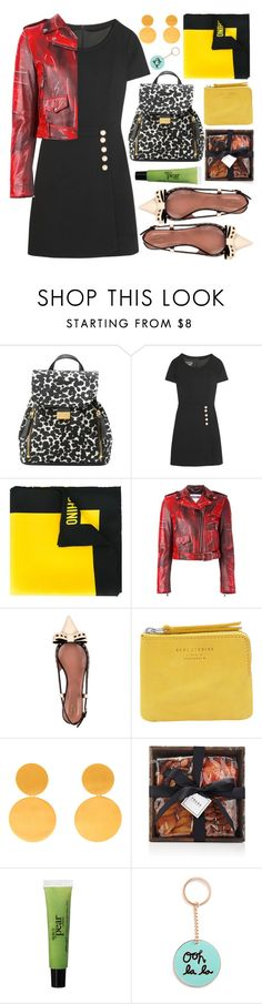 """""""Sin título #1235"""" by meelstyle ❤ liked on Polyvore featuring Boutique Moschino, Moschino, RED Valentino, Acne Studios, Marie Hélène de Taillac, FREDS at Barneys New York and philosophy"""