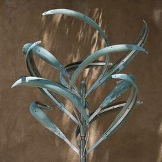 IRIS 3 - VERDI - Mark White, wind sculptures