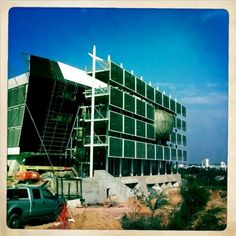 First LEED Platinum Building in Israel - Tel Aviv Porter School of Environmental Studies | Treehugger via GR2Design Archive