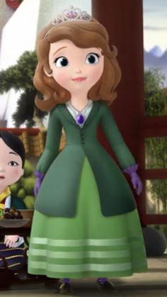Princess Sofia Dress, Ella Anderson, Disney Princess Frozen, Sofia The First, Different Dresses, Art Reference Poses, Disney Animation, Bear, Cartoon