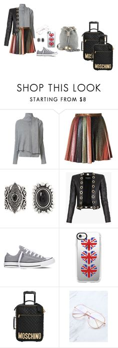 """Vacation! I go to Spain!"" by mprocedi ❤ liked on Polyvore featuring Edun, Marco de Vincenzo, New Look, Balmain, Converse, Casetify, Moschino and See by Chloé"