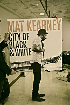 Mat Kearney! Discovered him when Justin Timberlake was my Pandora channel