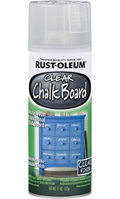 Rust-Oleum 302487 11 oz Clear Chalkboard Spray