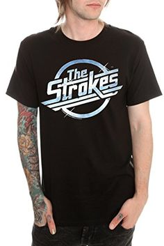42% Off was $29.95, now is $17.35! The Strokes Logo T-Shirt