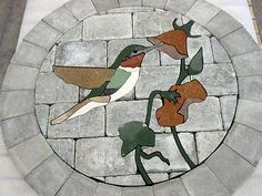 Garden ideas humming bird