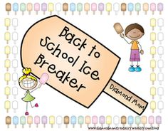 Back to School Ice Breaker   For many teachers the school year is nearing the end. It may seem crazy but this is the time of year when we start to think about next year. With this in mind I have something that can help.  This is a great way to create groups form partnerships and practice matching numbers with their words at the same time.  Click on the pictures to get your own copy.  back to school classroom management number words numbers picking partners team building