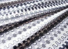 Shades of Grey Zipper Tape
